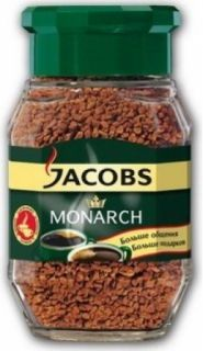 Кофе Якобс Монарх 47,5гр*12шт стекло