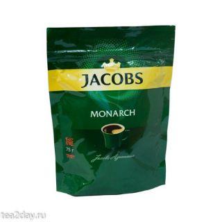 Кофе Якобс Монарх  75гр*12шт пакет