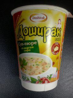 Суп-пюре ДОШИРАК со вкусом сыра 30гр*24шт