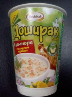Суп-пюре ДОШИРАК со вкусом курицы 30гр*24шт