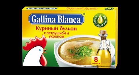 Бульон ГБ куриный с укропом и петрушкой 10гр.48*24