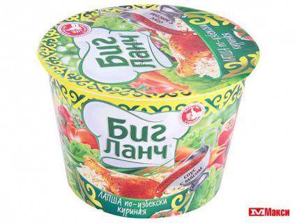 Лапша БигЛанч 90гр курица по-узбекски*24 шт СТАКАН