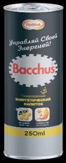 Напиток BACCHUS ГАЗИРОВАННЫЙ 250мл*24шт
