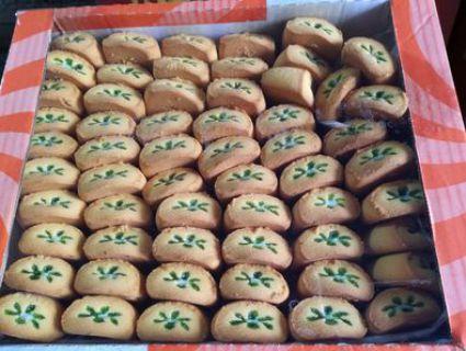 Печенье БЕЛЛОНЭ с йогуртом+зеленое яблоко 2кг*1шт