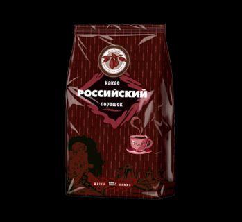 Какао-порошок Российский 100гр*24шт пакет