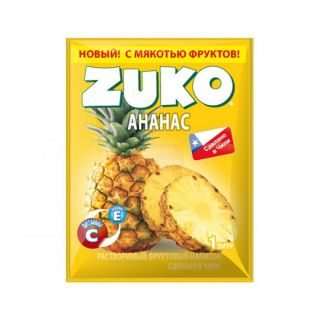 Сухой сок ZUKO ананас 25гр* 8бл*12 шт
