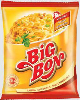 Лапша БП Big Bon *курица 75г 48шт