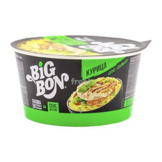 Лапша БП Big Bon чашка курица 85г 24шт