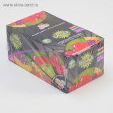 Жев.резинка Кислица туттифрутти, вишня, яблоко 4гр*12бл*100шт