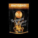 Кофе Чёрная Карта   Голд 75гр*12шт ПАКЕТ