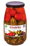 Ассорти томаты и огурчики