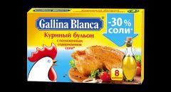 Бульон ГБ куриный с пониженным содержанием соли 10гр.24*48