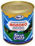 Молоко концентрированное БелаСлада 8,5% ТУ 300гр*45шт ж/б Белгород.обл