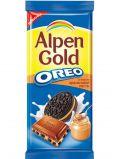 Шоколад Альпен Голд молочный ОРЕО 95гр*19шт