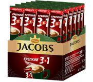 Кофе Якобс 3 в 1 Крепкий 12гр*24шт*10бл