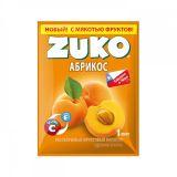 Сухой сок ZUKO абрикос 25гр* 8бл*12шт