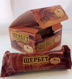 Щербет шоколадный с арахисом 150гр 6шт*12 бл