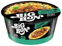 Лапша БП Big Bon чашка говядина соус гуляш 85г 24шт